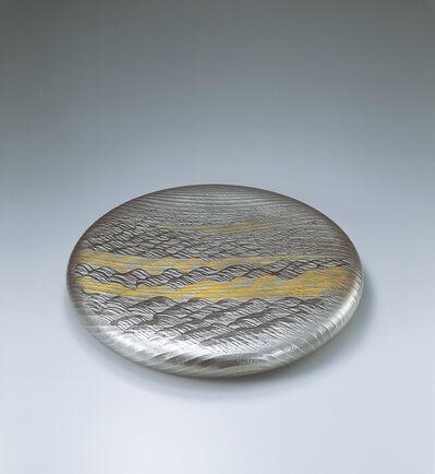 Osumi Yukie, 'Silver Plate Bogetsu (Full Moon)', 1994