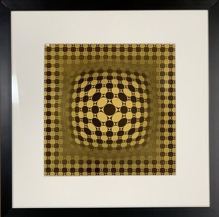 Victor Vasarely, 'Vega [Brown]', 1974