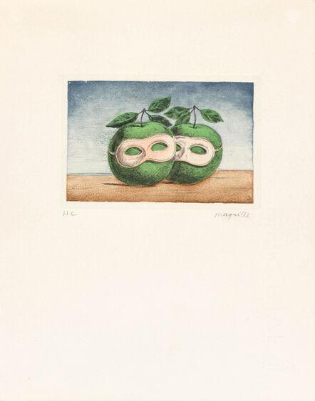 René Magritte, 'Le prêtre marié', 1968