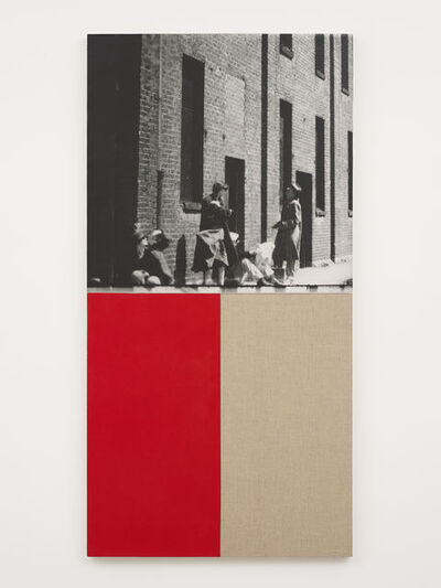 Ian Wallace, 'Poverty (Cinematic Cut)', 1986