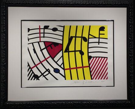 Roy Lichtenstein, 'Composition IV (Musical Notes)', 1995