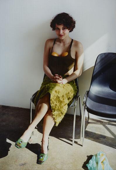 Erwin Wurm, 'Frau mit Orangen', 2000