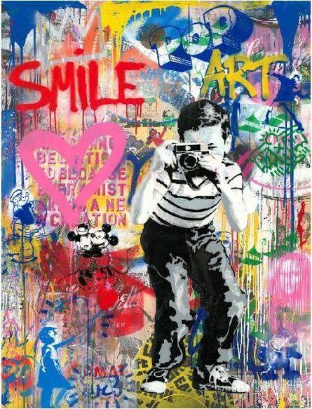 Mr. Brainwash, 'Smile (P103510)', 2020