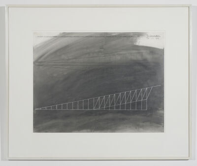 Cris Gianakos, 'Master Drawing for Equinox, University of Mass Installation', 1989