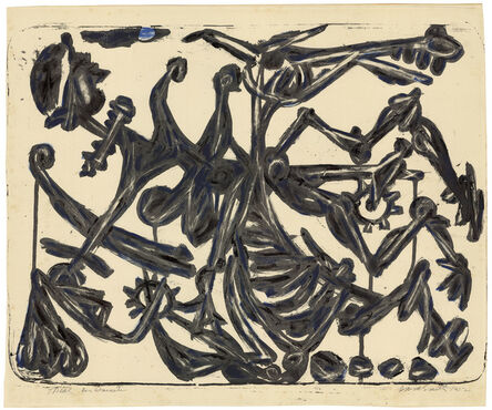 David Smith (1906-1965), 'Don Quixote.', 1952