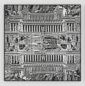 Peter Nagy, 'Sopra Tutta Italia', 1989