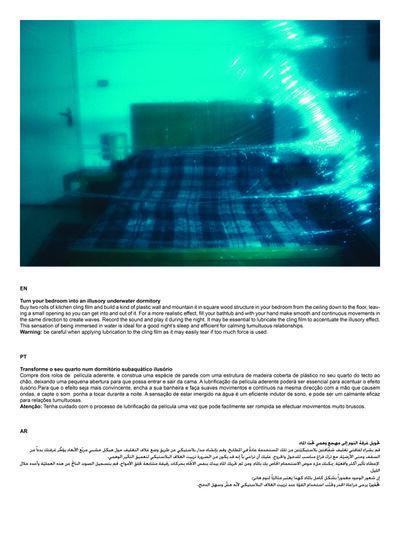 Kiluanji Kia Henda, 'Instructions to create your personal Dubai at Home', 2013