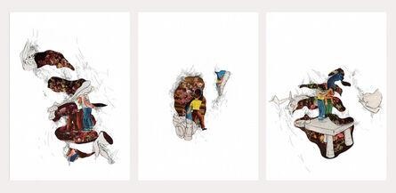 Catalina Schliebener, 'Sailors Series Triptych', 2016