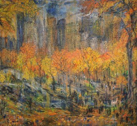 Layla Fanucci, 'New York Central Park Opus 555', 2017