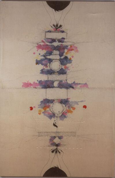 Alighiero Boetti, 'Tra sé e sé, (Between self and self)', 1987