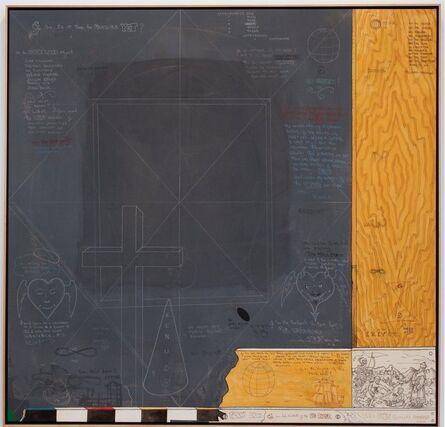 William T. Wiley, 'D.E & the Black Board Boys', 2008