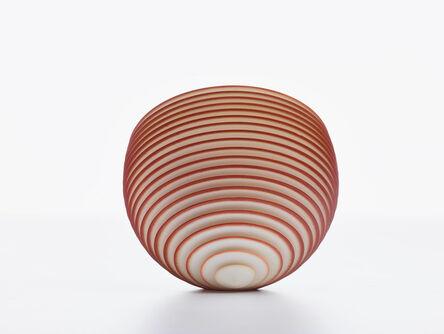 Nicholas Lees, 'Small Rust Orange Floating Bowl 21.05', 2021