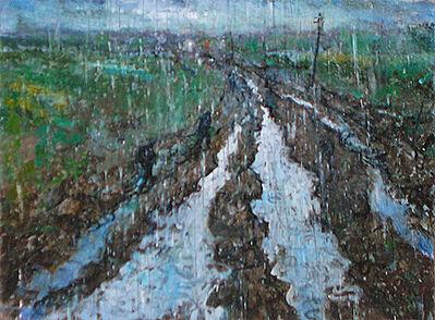 Chester Arnold, 'Study for Hard Rain', 2010