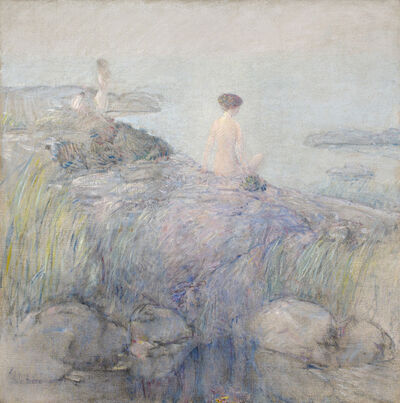 Frederick Childe Hassam, 'Maids in the Mist', 1899