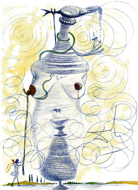 Salvador Dalí, 'Large Flask', 1967
