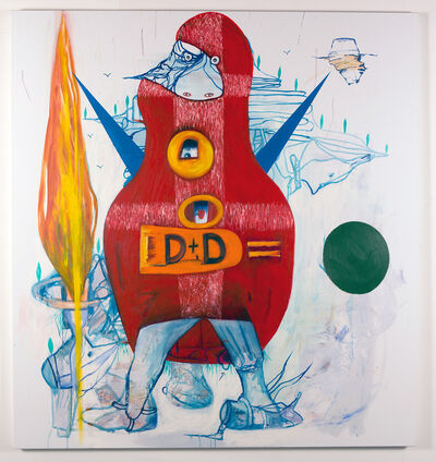 Gareth Sansom, 'Dumb and dumber', 2014