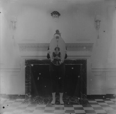 Jaclyn Kain, 'Self-Portrait (at the Mantle)', 2014