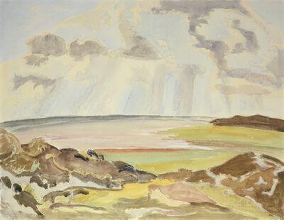 Erich Heckel, 'Am Wattenmeer', 1950