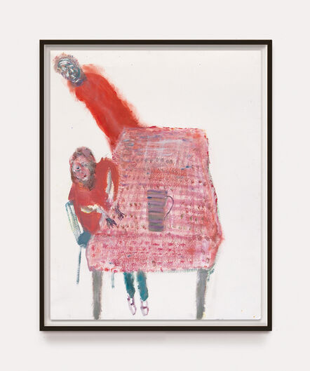 Andrew Litten, 'Orange Table', 2020