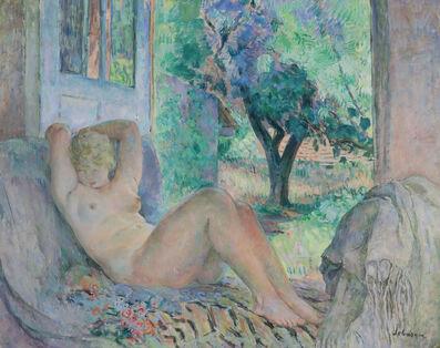 Henri Lebasque, 'Grand Nu (Marinette), Le Cannet', 1934