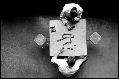 Danny Lyon, 'The Dominoes Players, Walls Unit, TDC', 1967