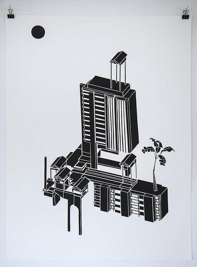 Olalekan Jeyifous, 'Government Housing', 2016