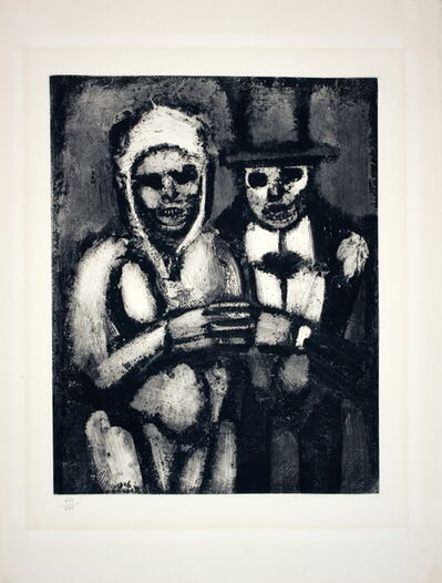 Georges Rouault, 'Bride and Groom', 1927