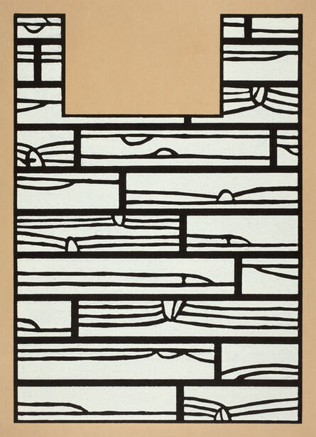 Richard Woods, 'Offcut No 5 (under the bed)', 2013