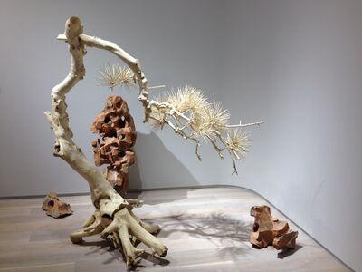 Shi Jinsong 史金淞, '短松, 金淞 千创园 红1号', 2013
