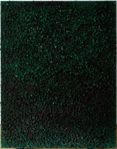 Sung Hee Cho, 'Black Green Cluster', 2015