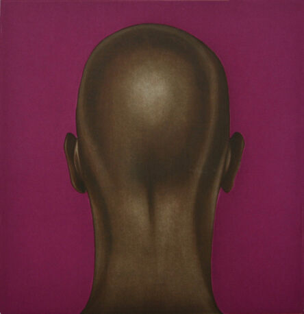 Salomón Huerta, 'Untitled (Head with Fuchsia)', 2001