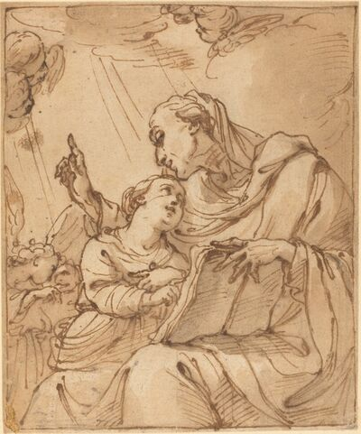 Ubaldo Gandolfi, 'The Education of the Virgin'