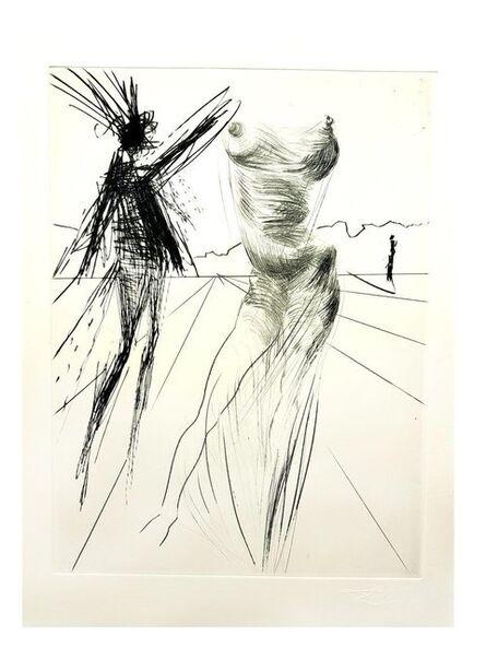 "Salvador Dalí, 'Original Engraving ""Faust - Sator"" by Salvador Dali', 1969"