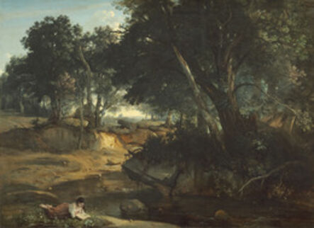 Jean-Baptiste-Camille Corot, 'Forest of Fontainebleau', 1834