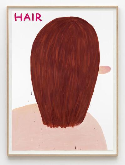 David Shrigley, 'Untitled (Hair)', 2015
