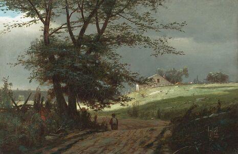 John Francis Murphy, 'Storm Breaking', 1878–80