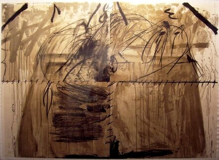 Antoni Tàpies, 'Moix', 1967