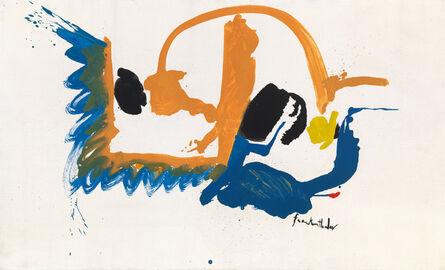 Helen Frankenthaler, 'May Scene', 1961