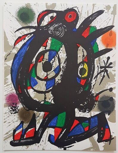 Joan Miró, 'Lithographie Originale I', 1977