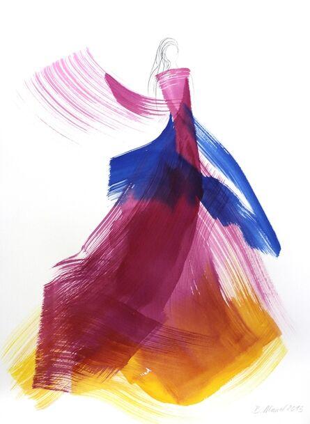 Bettina Mauel, 'The Violet Dress 4', 2015