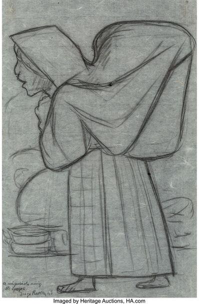 Diego Rivera, 'Untitled (Woman)', 1943
