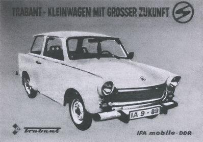 Richard Forster, 'DDR Trabbie Advertisement', 2015