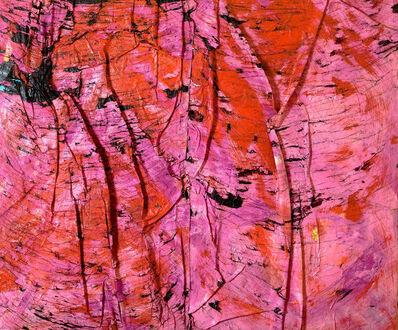 Angel Otero, 'Blurred kiss (Skin painting)', 2011