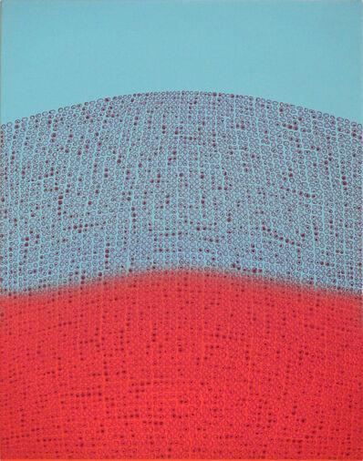 Teo Gonzalez, 'Arch/Horizon - Double Hill 6 Painting', 2017
