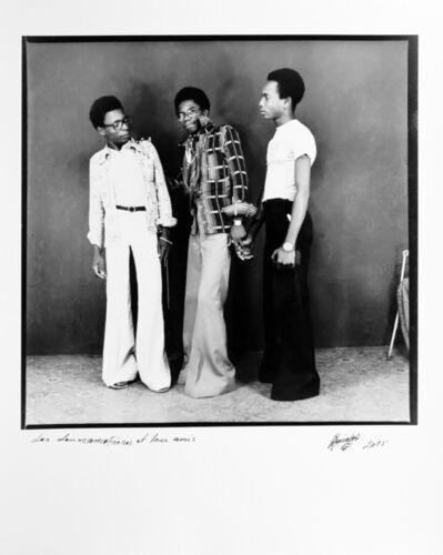 Ambroise Ngaimoko, 'Les deux frères et leur ami', 1975