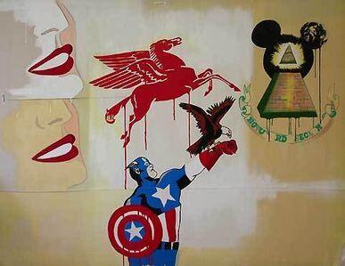 Ronnie Cutrone, 'American Billboard', 2007