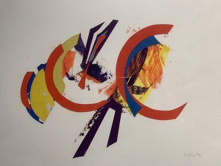 Budd Hopkins, 'Untitled Collage Study', 1994