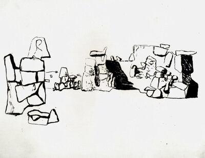 Louis Kahn, 'Granite Quarries, No. 5b, Aswan Egy', 1951
