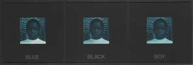 Carrie Mae Weems, 'Blue Black Boy (from Colored People)', 1989-1990
