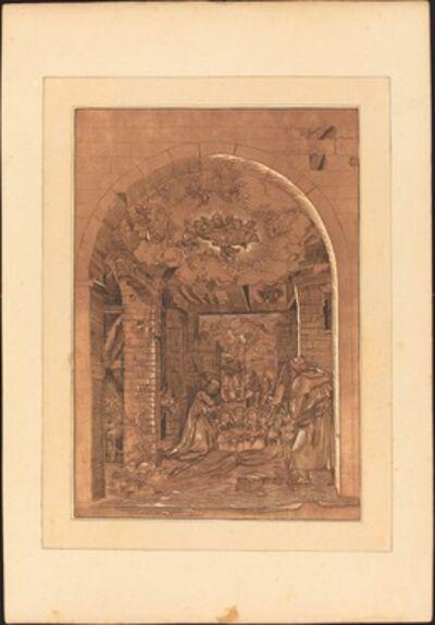 Johann Gottlieb Prestel, 'The Adoration of the Shepherds', published 1782